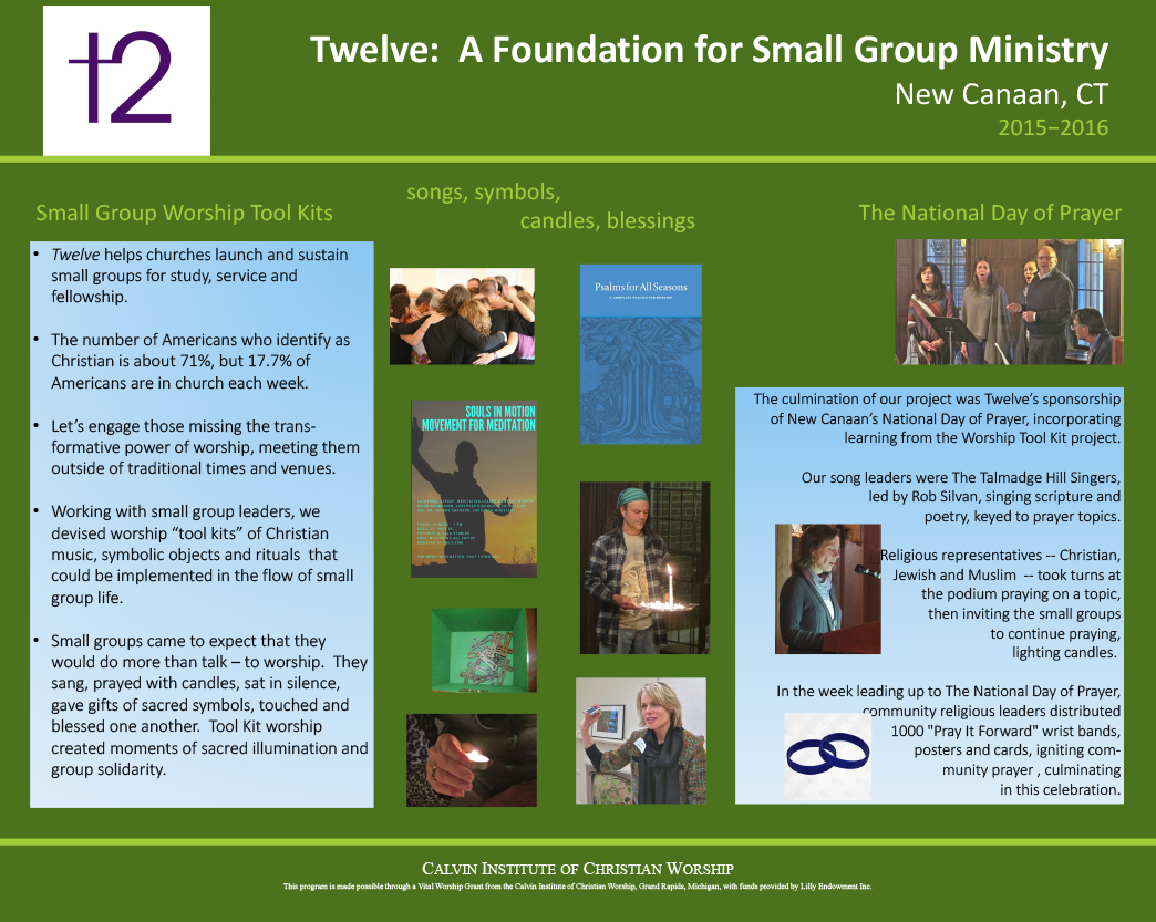 Twelve: A Foundation for Small Group Ministry