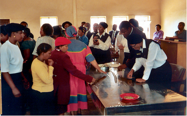 Click to view the slideshow on worship in South Africa