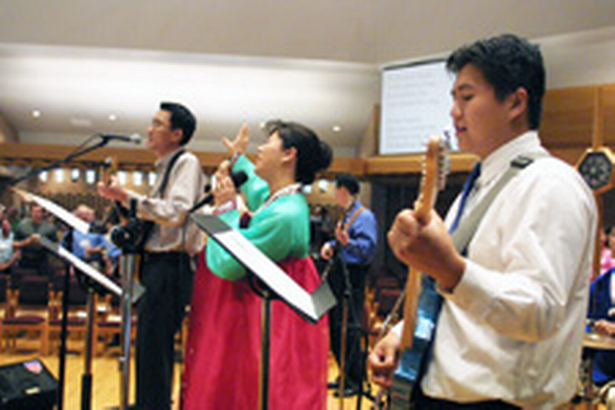 Click to View the Slideshow on Korean American Churches Images