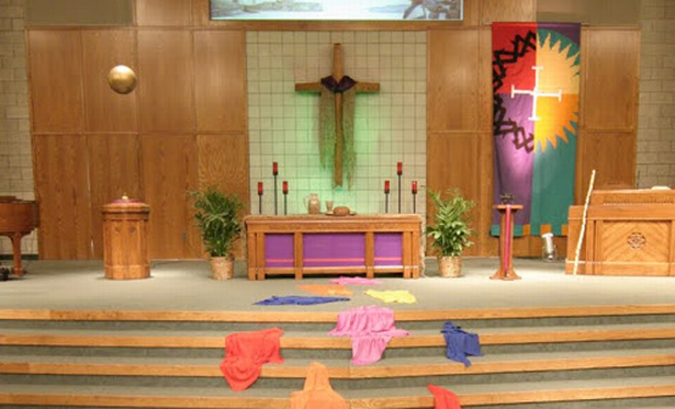 click on the above photo to view art installations at Orchard Hill Church for Palm Sunday