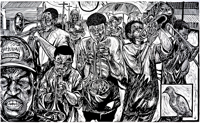 Second Line by Steve Prince