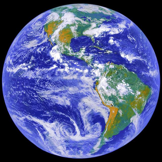 The Earth (photograph by NASA)