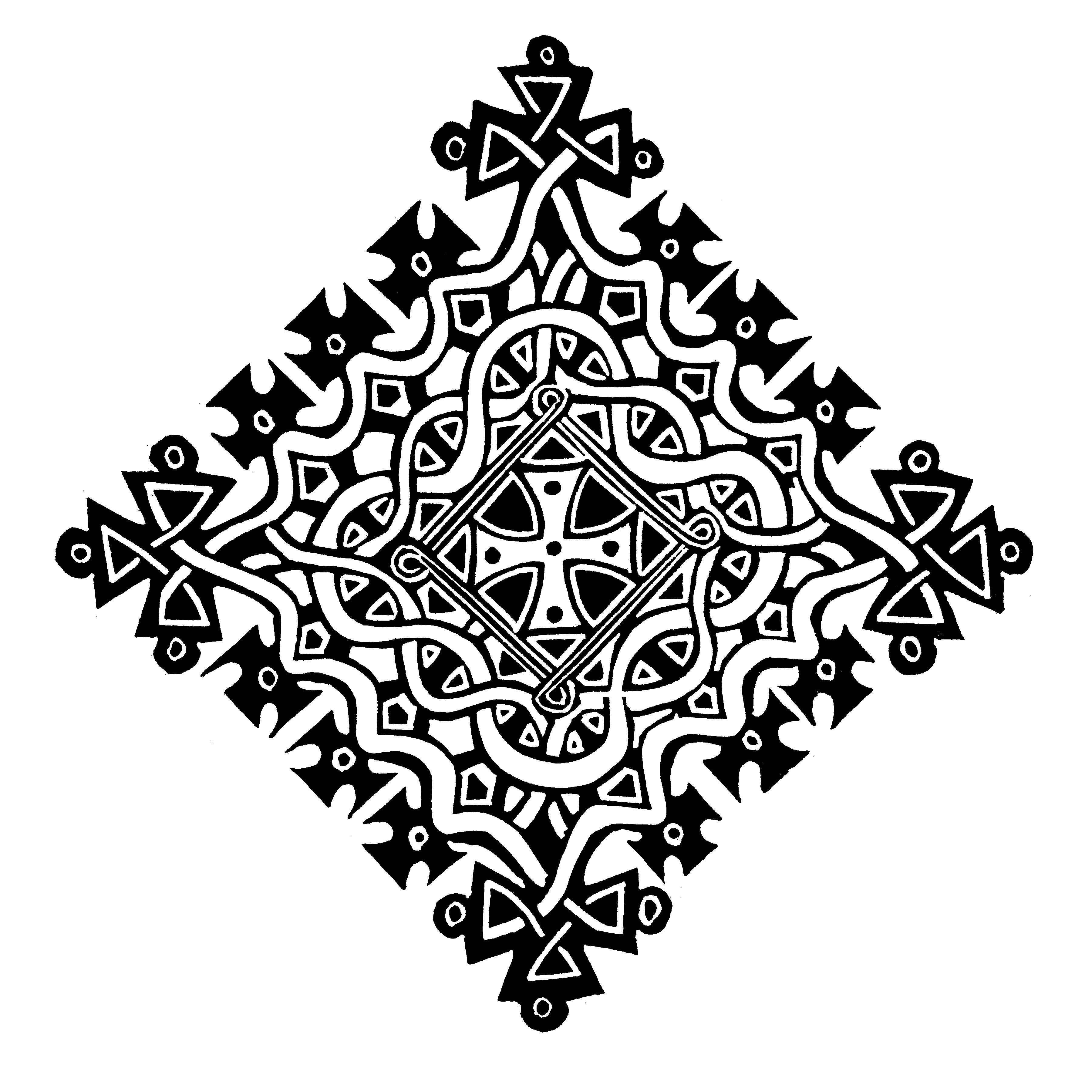 cross ethiopian