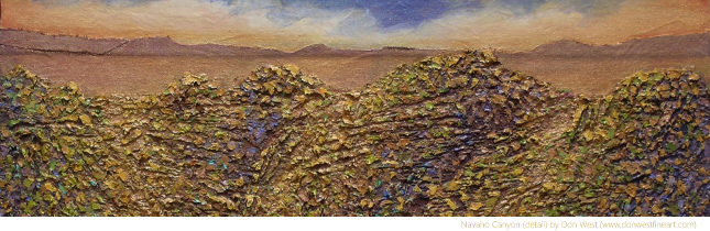 Navaho Canyon by Don West (www.donwestfineart.com)